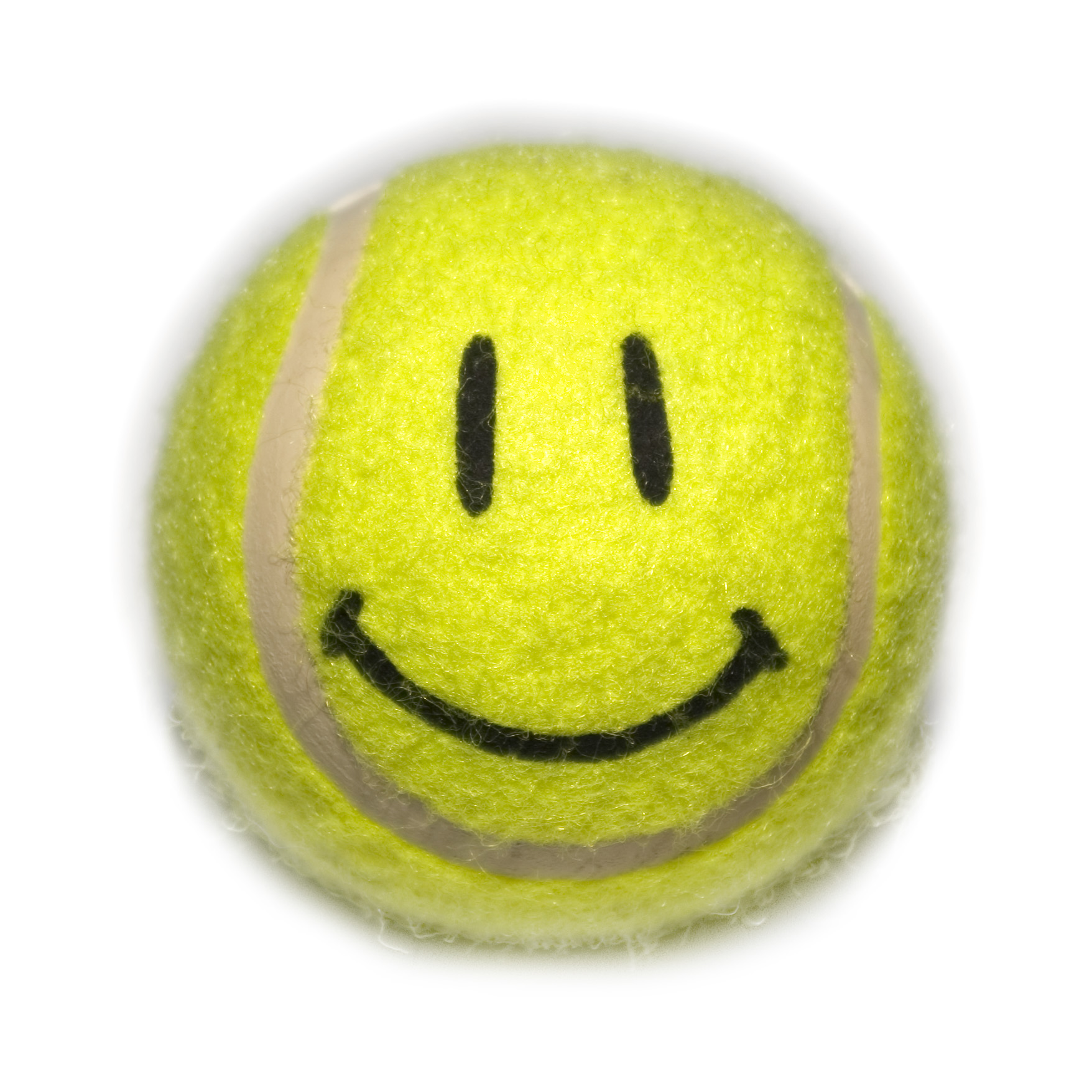 Smiley Face Tennis Ball