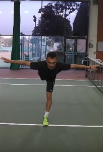 Expert tennis strength and conditioning coach Jonny Fraser